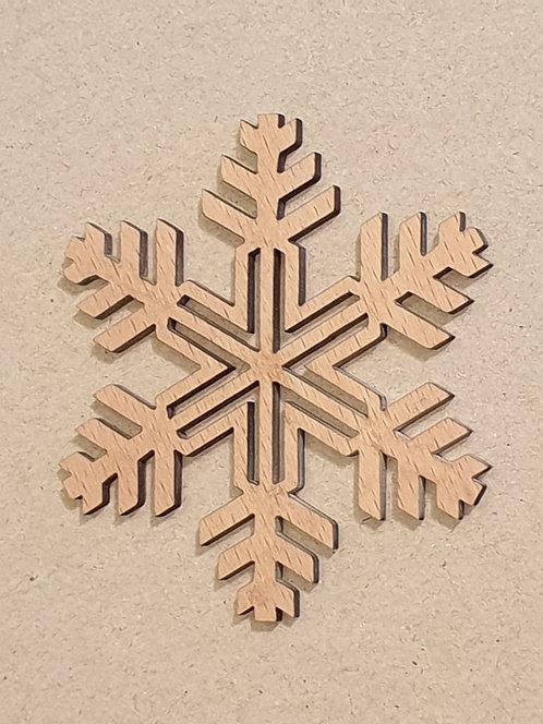 Sněhová vločka - motiv 4