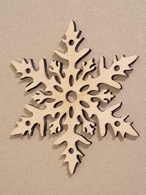 Sněhová vločka 1 (dekorace do okna)