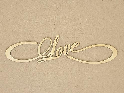 """Dekorace - nápis """"love"""" 1"""