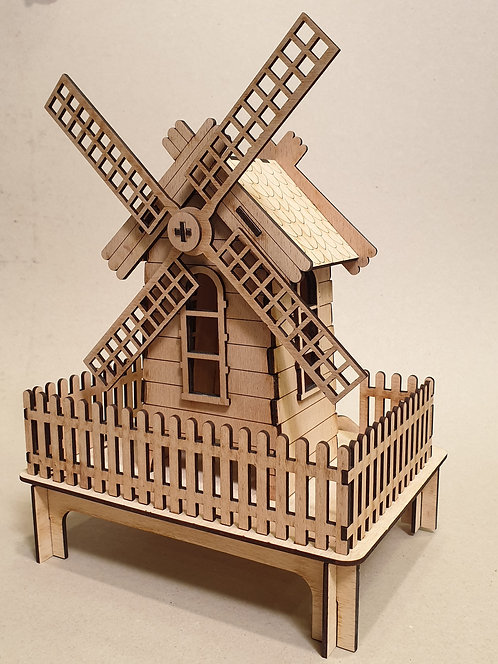 Větrný mlýn - složený