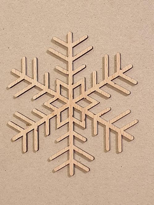 Sněhová vločka - motiv 3