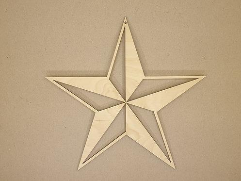 Hvězda 1 (dekorace do okna)