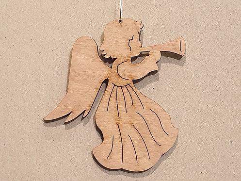 Anděl gravírovaný 3