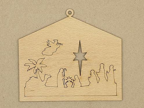 Vánoční betlém 7