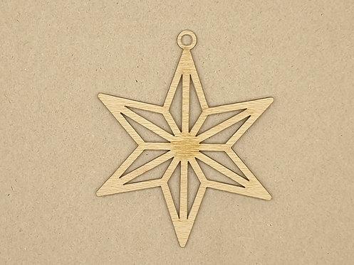 Vánoční ozdoba 48 - hvězda 2