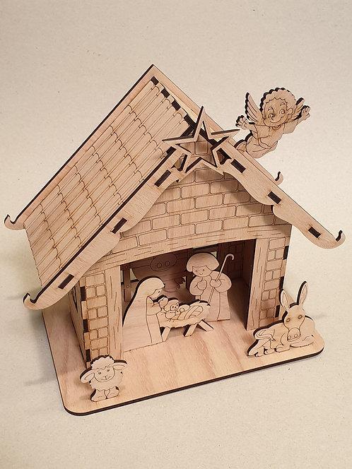 Vánoční betlém 3 - stavebnice
