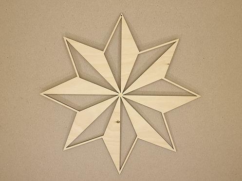 Hvězda 2 (dekorace do okna)