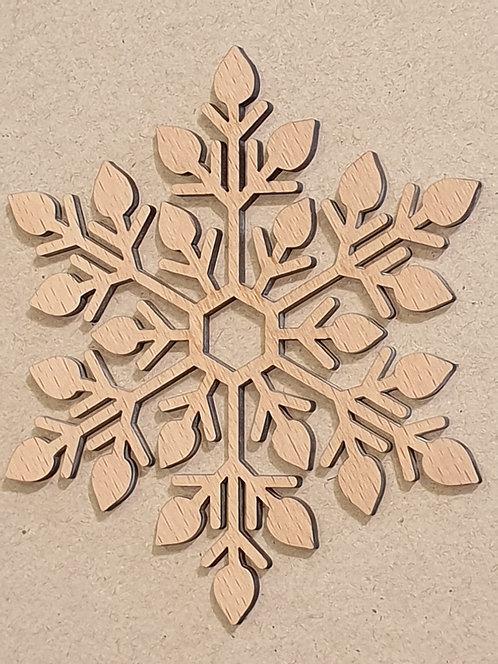 Sněhová vločka - motiv 8