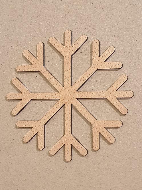 Sněhová vločka - motiv 10