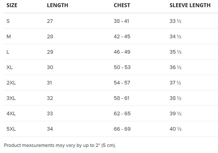 Gildan sweatshirt size chart.png