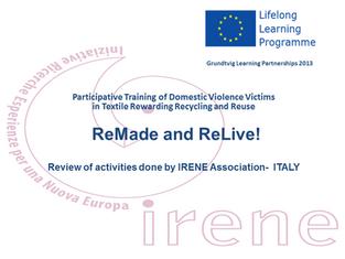 "Concluso il progetto Europeo ""Remade and Relive"""