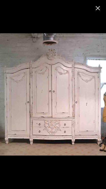 4 Door Armoire