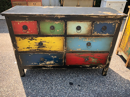 8 Drawer Commode Chest
