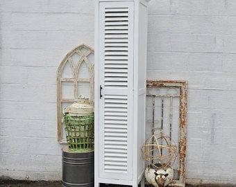 Skinny Cabinet Shutter Door