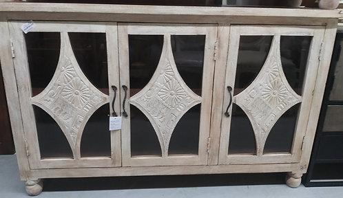 Cavalier Carved Wood Sideboard