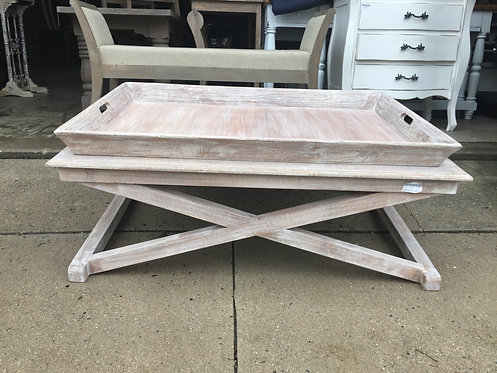 Cross Base Tray Table