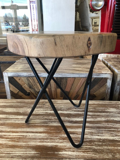 Cross Section Wood Stools