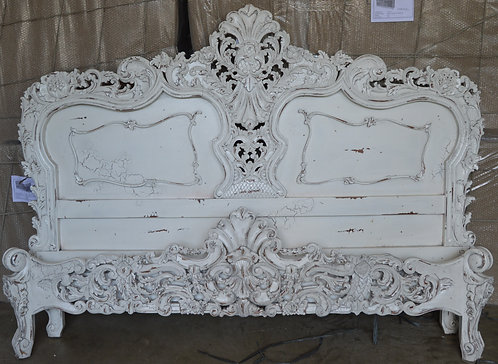 SHELL ROCOCO BED