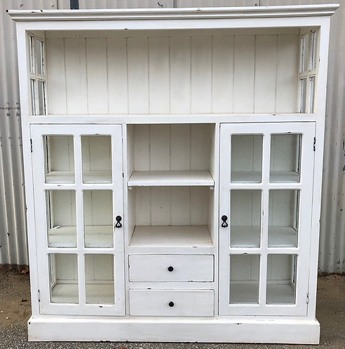 Cape Cod Cabinet 2 Doors 2 Drawers