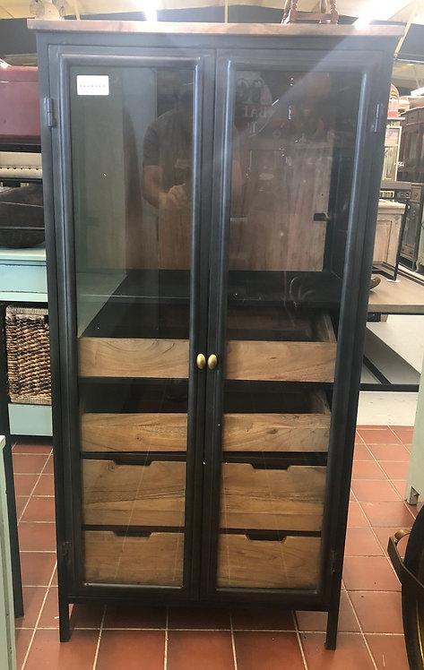 2 Door Glass Cabinet