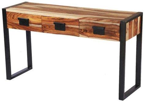Acacia Metal Console Table