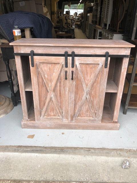 Barn Sliding Door Cabinet