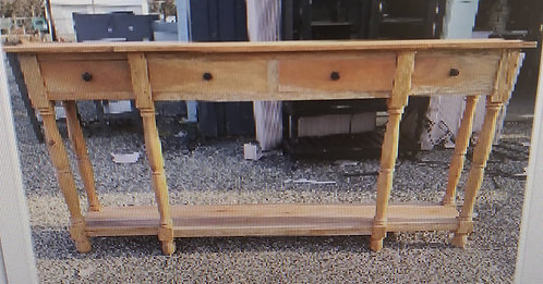 Console Table with 4 Drawers