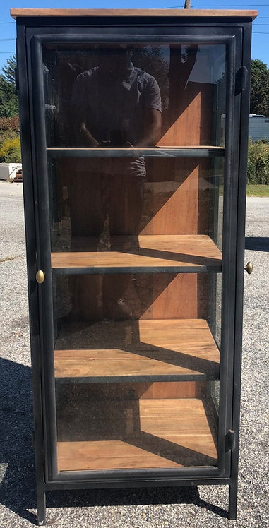 OPEN GLASS CABINET