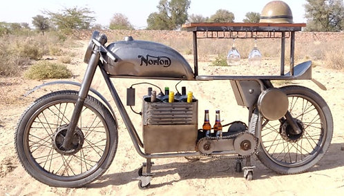 NORTON MOTORCYCLE BAR