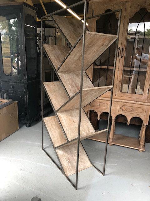 Slant Wine Cabinet