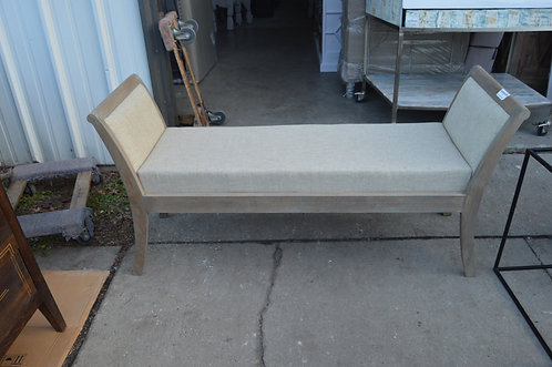 Double Sleigh Bench