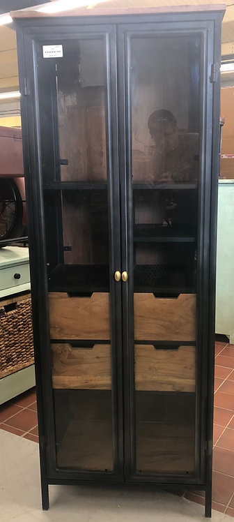 2 Door Glass Cabinet