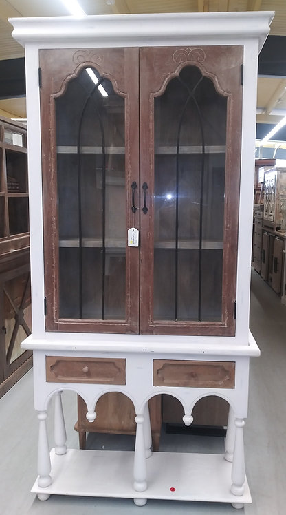 Tall Showcase Cabinet