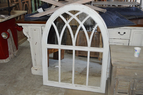 Raleigh Arched Cathedral Mirror