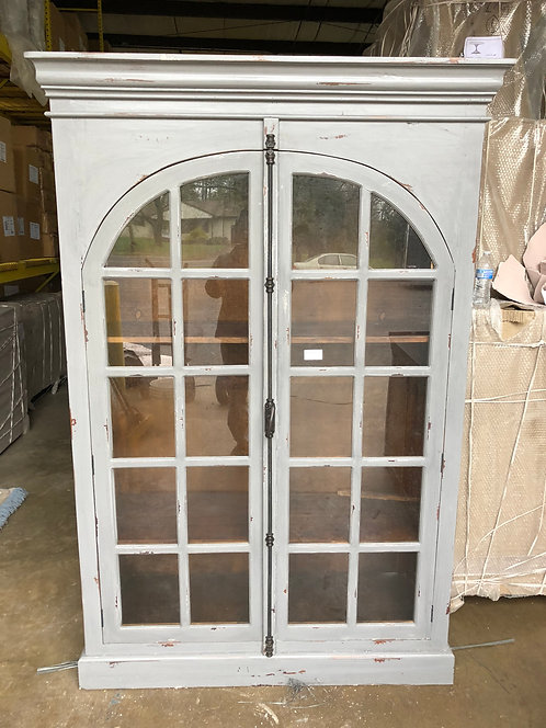 Half Round Glass Door