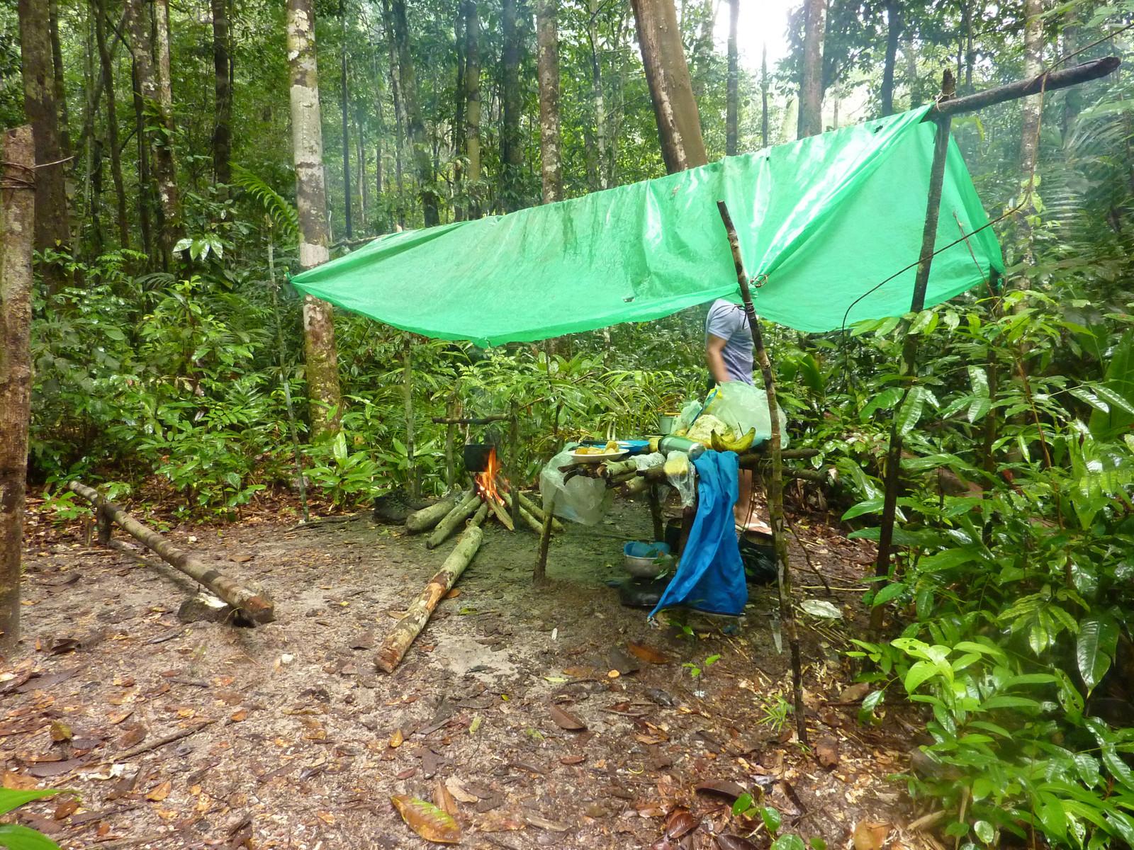 Camp 1 jungle kitchen