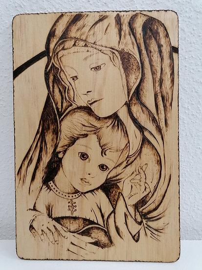 Portrait de la Ste Vierge et de l'Enfant Jésus