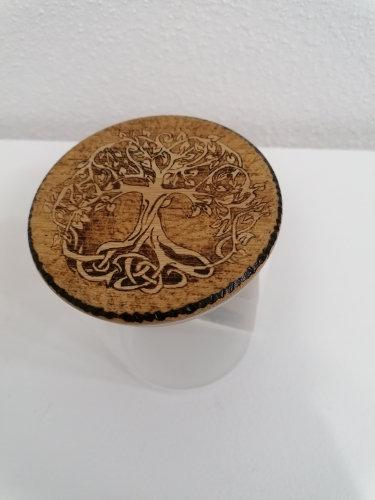 Pot de conservation en verre hermétique Thème celtique Arbre de vie