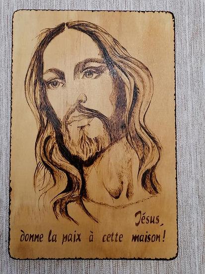 Portrait Jésus Christ - thème religion
