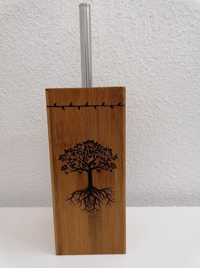 Brosse balai a récurer arbre de vie celtique
