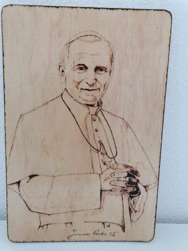 Portrait du pape Jean Paul II