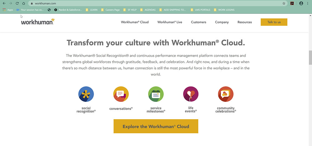 Manage culture with Workhuman Products, Fighting For Small