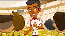 برنامج غرس الكرتوني بالتعاون مع مجلس دبي الرياضي