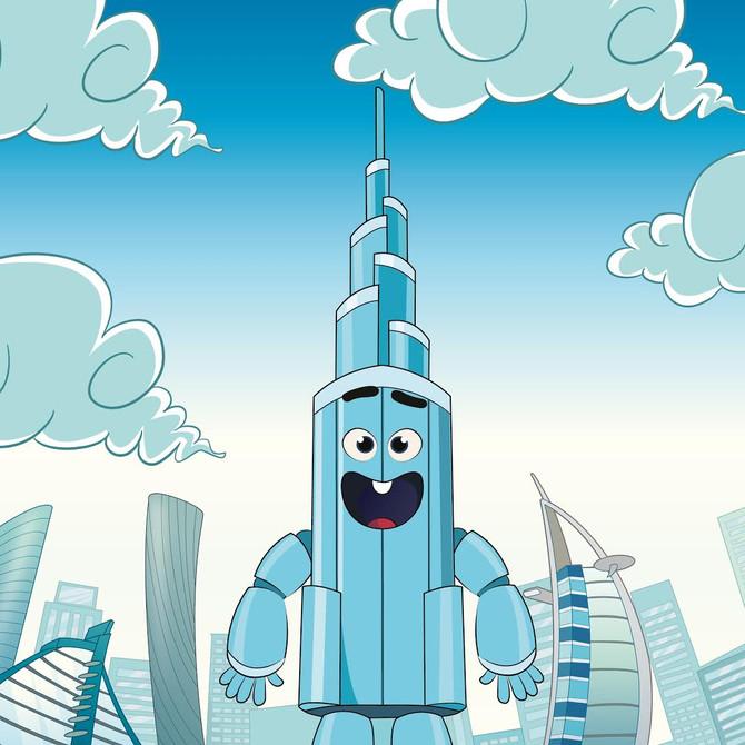 أجيال تصمم تميمة أطول برج في العالم