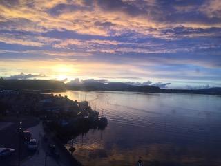 Easdale Sonnenuntergang