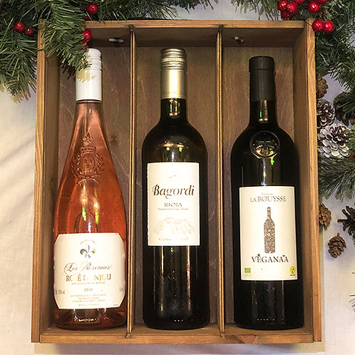 No. Twelve Must-Haves: Christmas Vegan Mixed Wine Trio