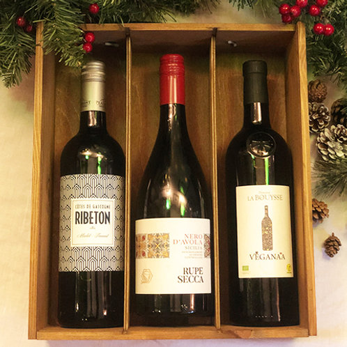 No. Twelve Must-Haves: Christmas Vegan Red Wine Trio
