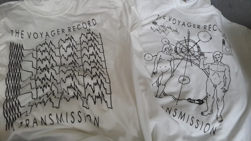 T-shirts for The Voyager Record: A Transmission by Anthony Michael Morena