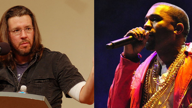 Pairing: David Foster Wallace & Kanye West