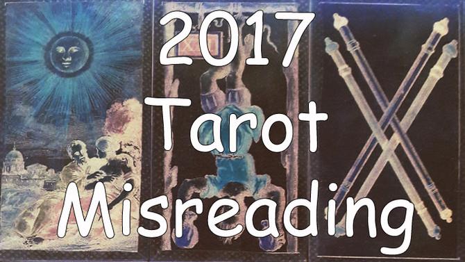 2017 Tarot Misreading